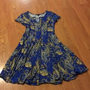 Paisley Patterned Dress